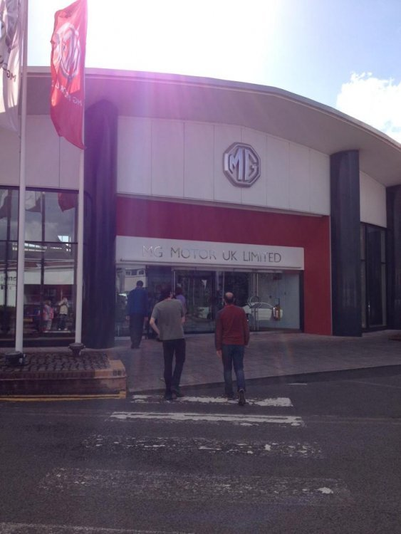MG Longbridge